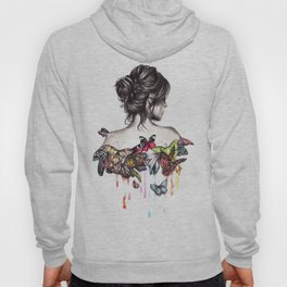 Butterfly Woman Hoody