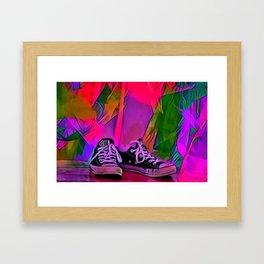 Dance Shoes Framed Art Print
