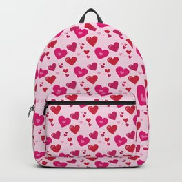 Valentines Day Hearts Repeated Pattern 114 Backpack