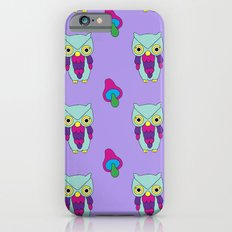 Psychedelic Woodland Mint Owl iPhone 6s Slim Case