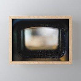 View Finder Framed Mini Art Print