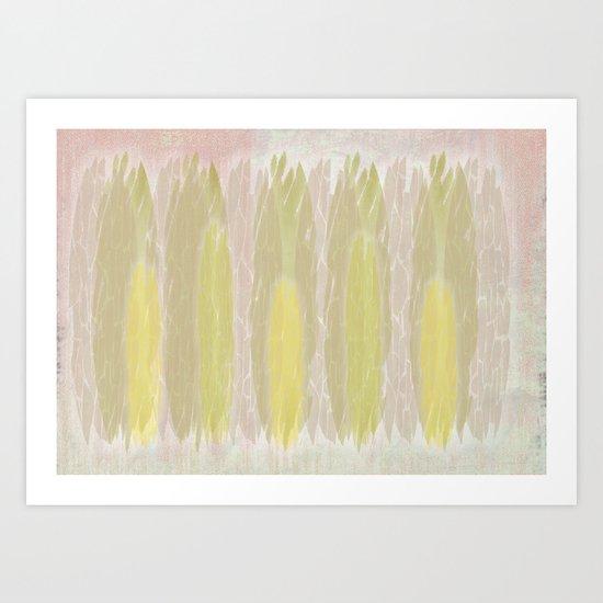 WILD WOOD  Art Print