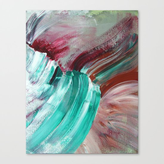 Abstract Study 1 Canvas Print