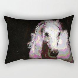 White Arabian Rectangular Pillow