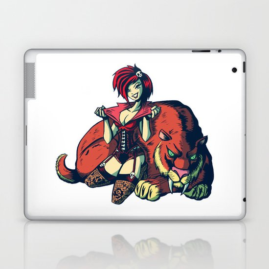 Pin-up Girl Laptop & iPad Skin