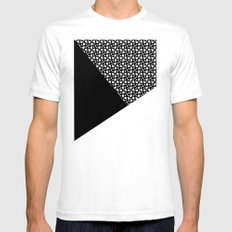 A_pattern LARGE Mens Fitted Tee White