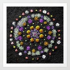Garden Mandala 2009 v.2 Art Print