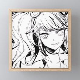 Danganronpa Junko Enoshima Framed Mini Art Print