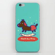Little baby dog iPhone & iPod Skin