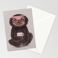Sloth I♥yoga Stationery Cards