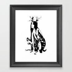 satyr Framed Art Print