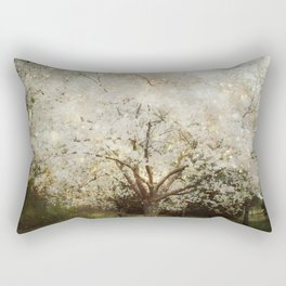 The Ghosts in the Trees Rectangular Pillow