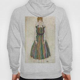 "Egon Schiele ""Portrait of Edith Schiele, the artist's wife"" (1915) Hoody"