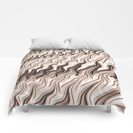 Melted Chocolate Comforters