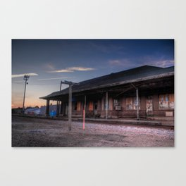Storm Lake Stop Canvas Print