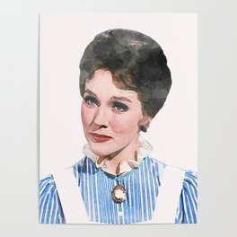 Mary Poppins - Watercolor #1 Poster