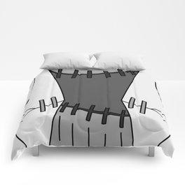 Franken Stein Lab Coat Comforters