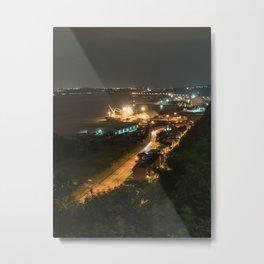 Le Fleuve Urban Metal Print