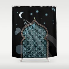 Persia Moonlight Shower Curtain
