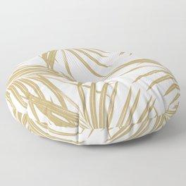 Gold Palm Leaves Dream #1 #tropical #decor #art #society6 Floor Pillow