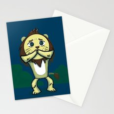 Cowardly Lion Stationery Cards