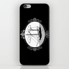 Sailing Ship Oval iPhone & iPod Skin