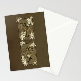 True Love is Oxytocin Stationery Cards