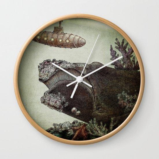 Leviathan (colour option) Wall Clock