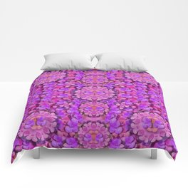 paradise blossom tree on the sunny mountain high Comforters