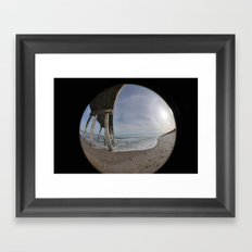 Fisheye View Framed Art Print