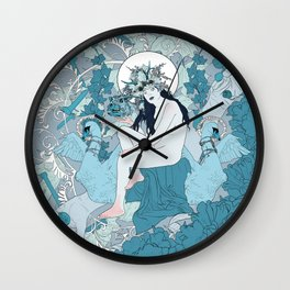 Lucid Interval Wall Clock