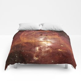 Star Clusters Space Exploration Comforters