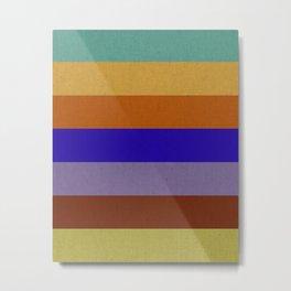 Orion Colors Metal Print
