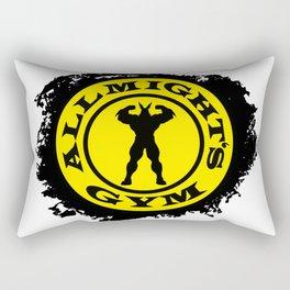 Allmight Gym Boku No Hero academia my hero academia Rectangular Pillow