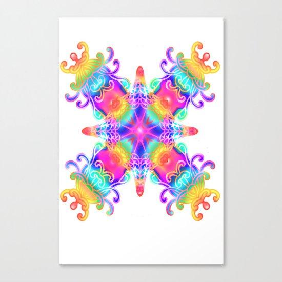 Colours Colours Canvas Print