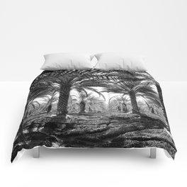 Vintage Palms Trees : Coachela Valley California 1937 Comforters