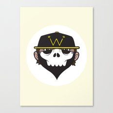 A Wicked Gentleman Canvas Print
