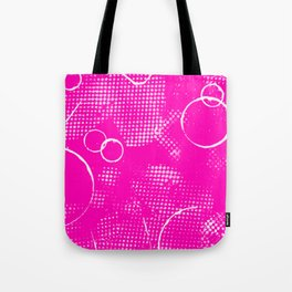 Texture #26 in Hot Pink Tote Bag