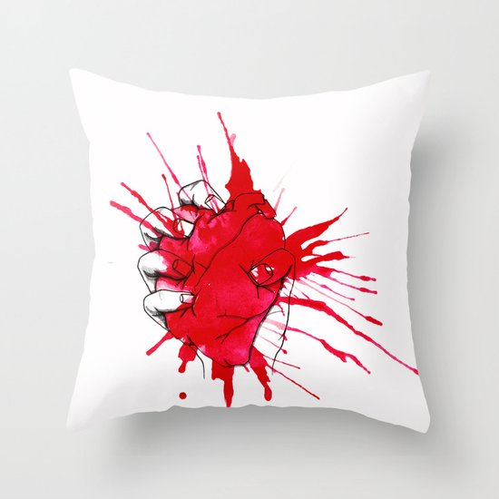 Crushed Throw Pillow