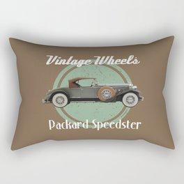 Vintage Wheels - Packard Speedster Rectangular Pillow