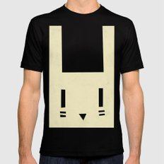 bunnyface MEDIUM Black Mens Fitted Tee