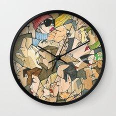 1001 faces Wall Clock