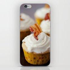 Bacon Maple Cupcake iPhone & iPod Skin