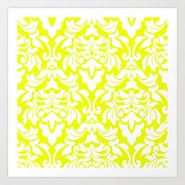 Lemon Fancy Art Print
