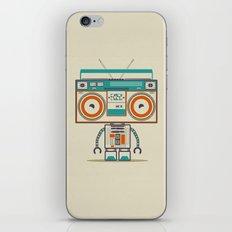 Music robot iPhone & iPod Skin