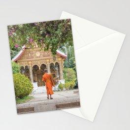 Luang Prabang Monk Stationery Cards