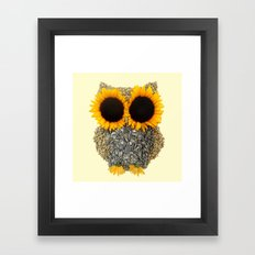 Hoot! Day Owl! Framed Art Print
