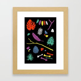 Organisms Framed Art Print