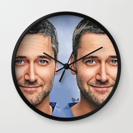 Dr. Max Goodwin // Ryan Eggold // New Amsterdam Wall Clock