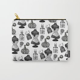 Victorian Wall Paper Carry-All Pouch